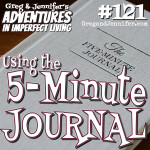 Adventures #121: Using the 5-Minute Journal