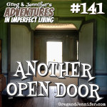 Adventures #141: Another Open Door