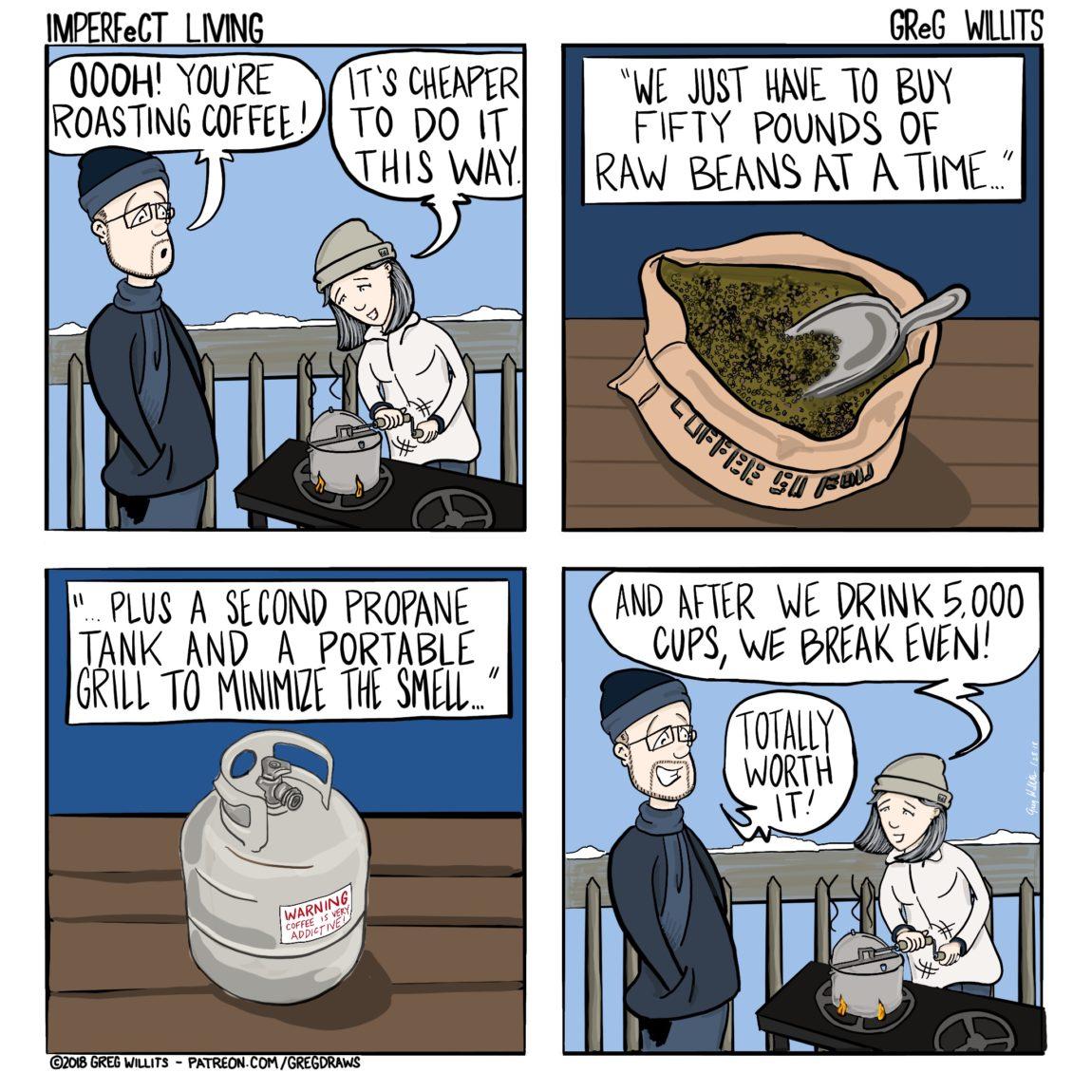 Imperfect Living Comic