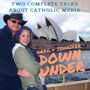 Greg and Jennifer Down Under
